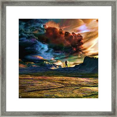 The Search For Eternal Truth Framed Print
