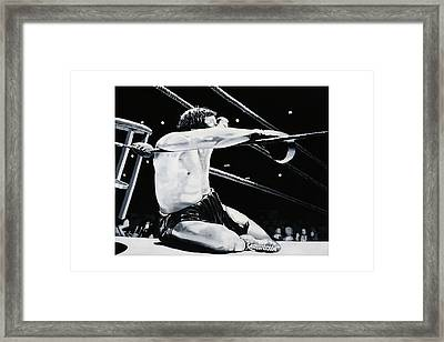 The Seat Framed Print by Mike Walrath
