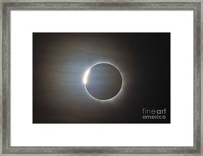 The Second Diamond Ring Framed Print