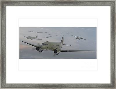 The Second Lift Framed Print