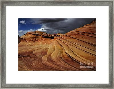 The Second Wave Framed Print