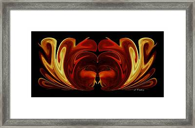 Framed Print featuring the digital art The Second Work by Roy Erickson
