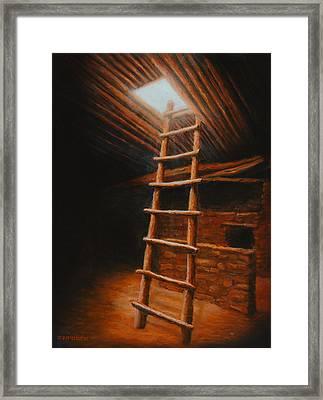 The Second World Framed Print