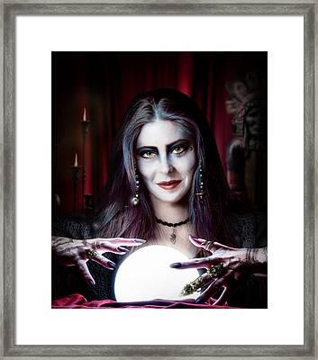 The Secret Framed Print by Alessandro Della Pietra