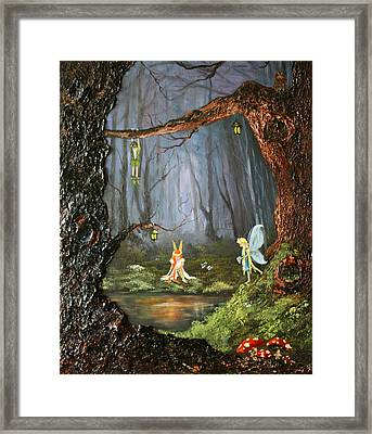 The Secret Forest Framed Print