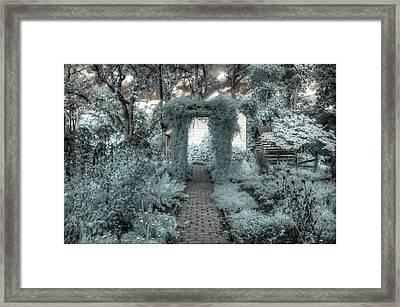 The Secret Garden Framed Print by Jane Linders
