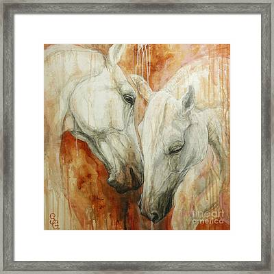 The Secret Framed Print by Silvana Gabudean Dobre