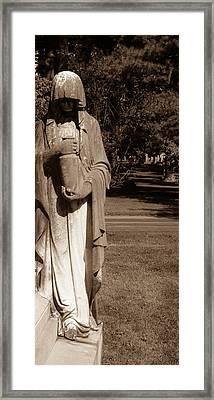 The Secret Urn Framed Print by Douglas Barnett