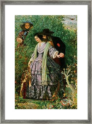 The Secret Framed Print by William Henry Fisk