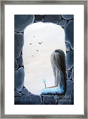 The Secret Window By Shawna Erback Framed Print by Shawna Erback
