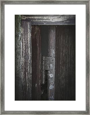 The Secrets Slipped Out Framed Print
