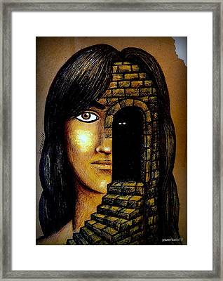 The Secrets Socially Accepted Framed Print by Paulo Zerbato