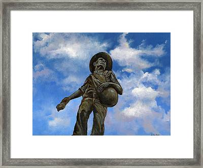 The Seed Sower Framed Print