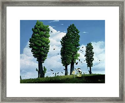 The Seeds Framed Print