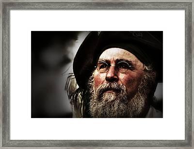 The Seer Framed Print