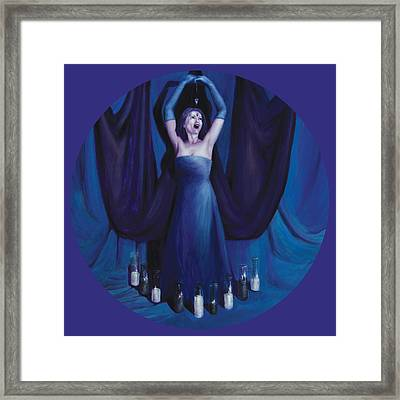 The Seer Framed Print by Shelley Irish