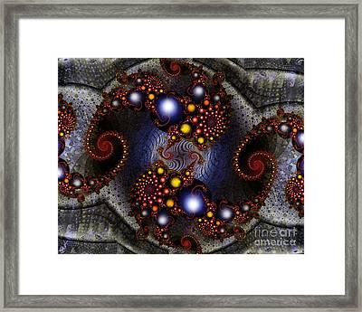 The Seer's Stone Framed Print