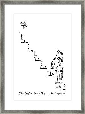 The Self As Something To Be Improved Framed Print