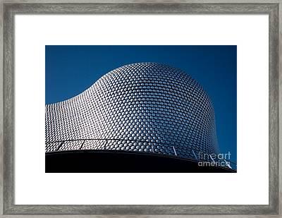 The Selfridges Building Framed Print by Anne Gilbert