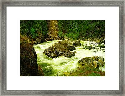 The Selway River Framed Print by Jeff Swan