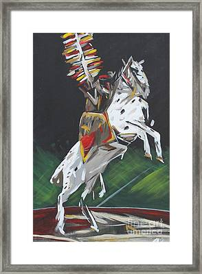 The Seminole Framed Print