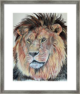 The Sentinel Framed Print by Ann Marie Chaffin