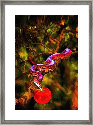 The Serpent Framed Print