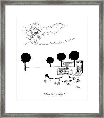 The Serpent Of Eden Framed Print