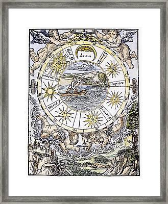 The Seven Planets, 1536 Framed Print by Granger