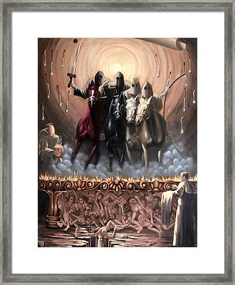The Seven Seals Framed Print by Anthony Falbo