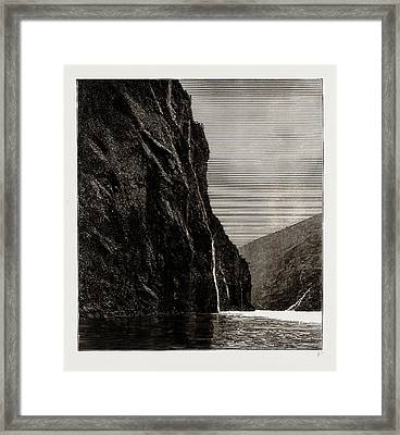 The Seven Sisters, Geiranger Fjord, Norway Framed Print by Litz Collection
