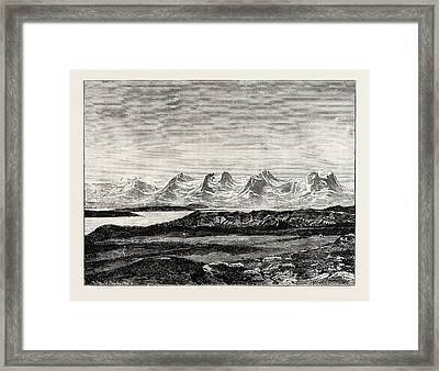 The Seven Sisters Framed Print by Norwegian School
