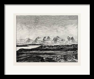 Seven Sisters Drawings Framed Prints