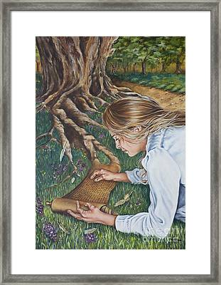 The Seven Spirits Series - The Spirit Of Knowledge Framed Print