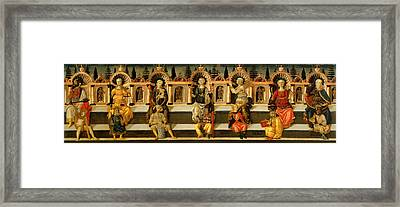The Seven Virtues Framed Print by Mountain Dreams