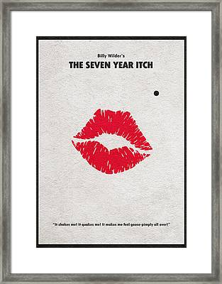 The Seven Year Itch Framed Print