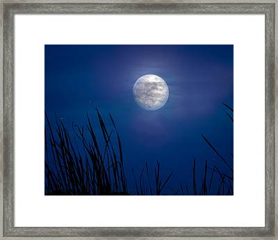 The Seventh Moon Framed Print