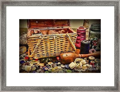 The Sewing Basket Framed Print by Paul Ward