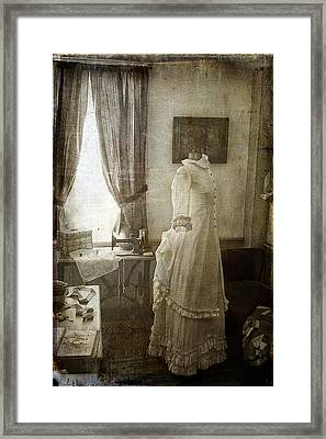 The Sewing Room Framed Print