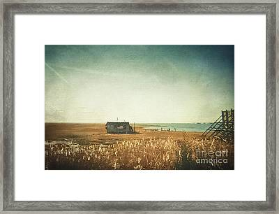 The Shack - Lbi Framed Print