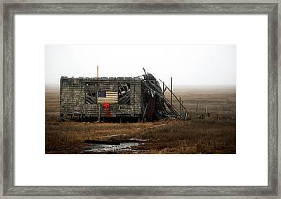 The Shack Framed Print by Elsa Marie Santoro