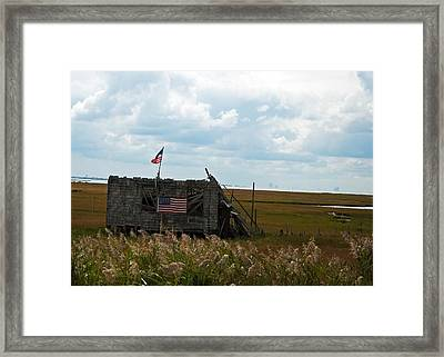 The Shack II Framed Print