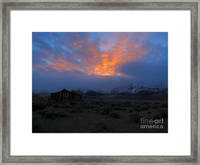 The Shack V.1 Framed Print