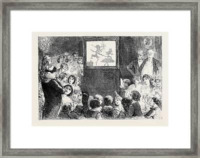 The Shadow Dance Framed Print by Browne, Hablot Knight (phiz) (1815-92), English