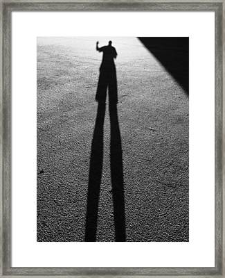 The Shadow No's Framed Print by Gustave Kurz