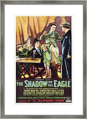 The Shadow Of The Eagle, Little Billy Framed Print by Everett