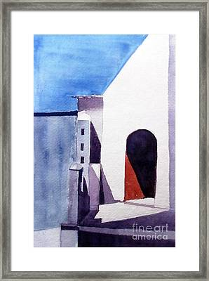 The Shadow Play Framed Print