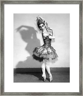 The Shadow Framed Print by Retro Images Archive
