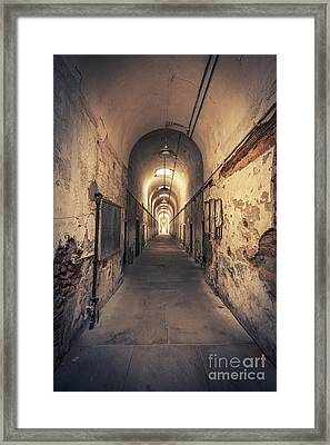 The Shadowpath Framed Print by Evelina Kremsdorf