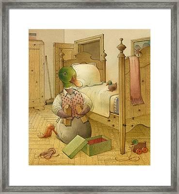 The Shaky Knight 05 Framed Print by Kestutis Kasparavicius
